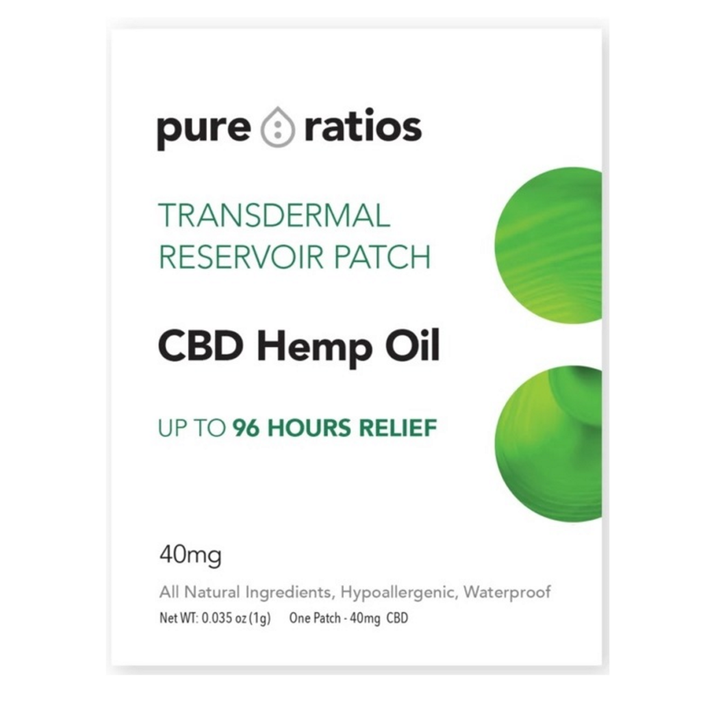 Pure Ratios CBD Patch Review