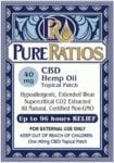 Pure Ratios CBD Patch