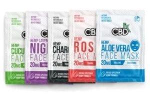 CBDfx CBD Hemp Face Masks