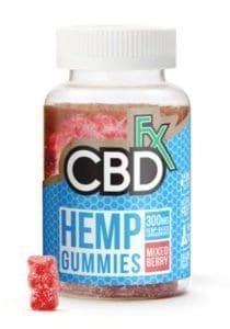 CBDfx Hemp Gummies