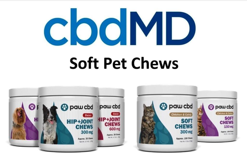 cbdMD CBD Pet Chews Review