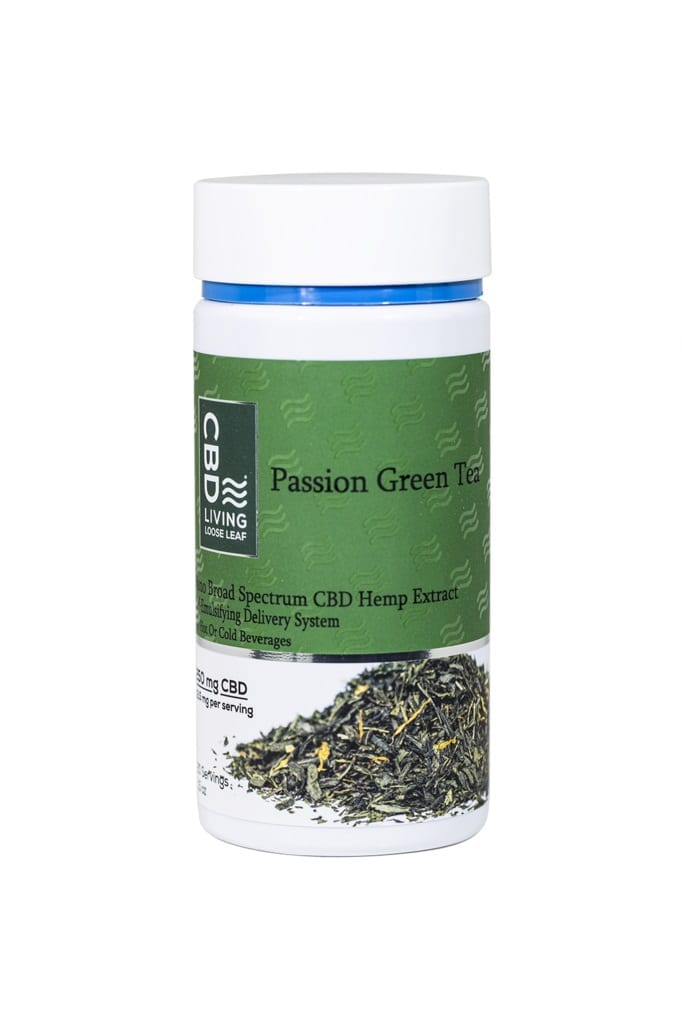 CBD Living Green Tea