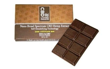 CBD Living Dark Chocolate