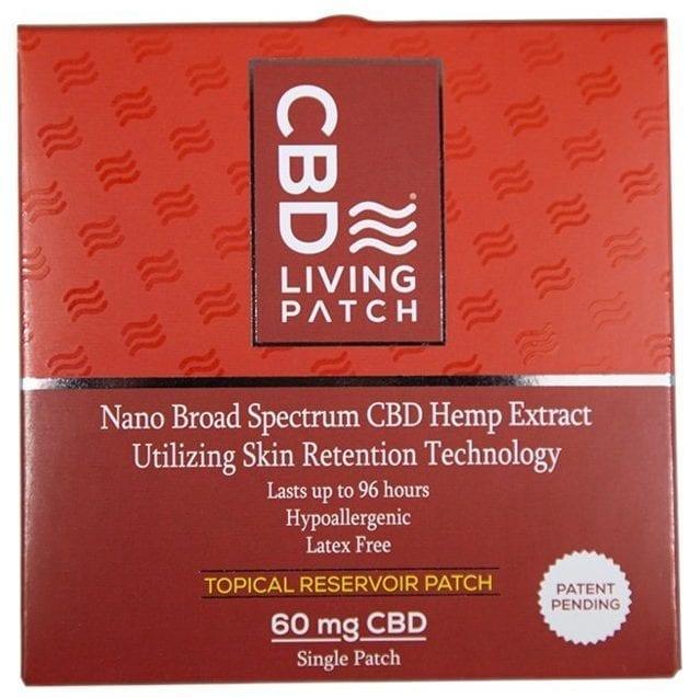CBD Living Hemp Patch