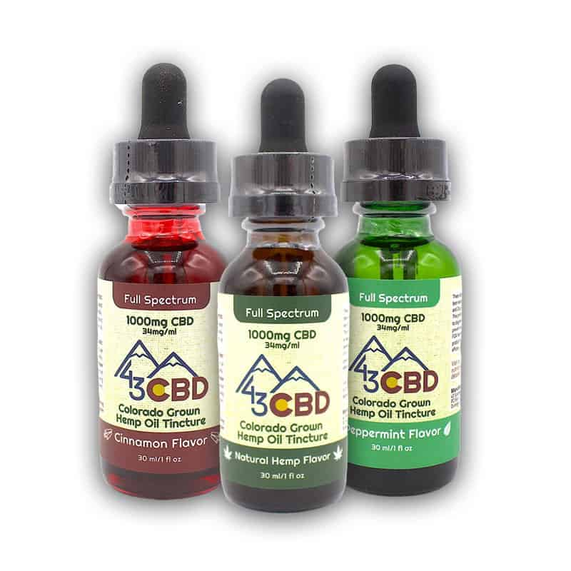 43 CBD Full Spectrum Oil
