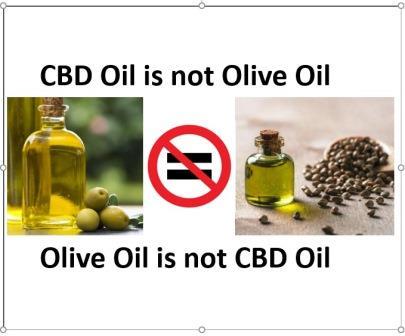 Does CBD oil taste like olive oil?