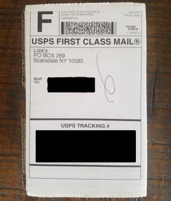 LolaHemp Shipping Box