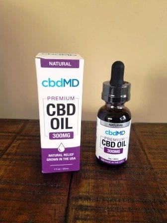 cbdMD Natural CBD Oil