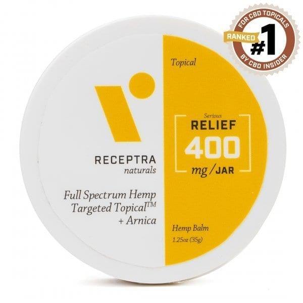 Receptra Serious Relief + Arnica Targeted Topical