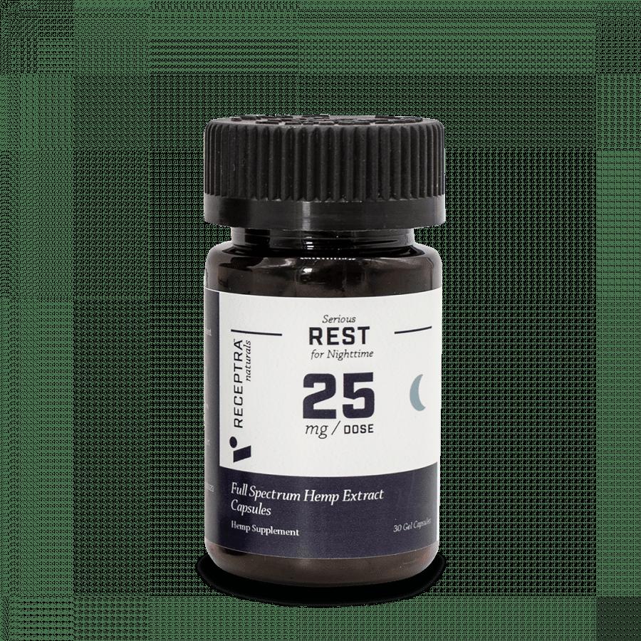 Receptra Naturals Serious Rest Capsules