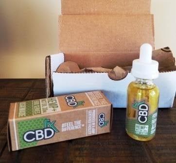 CBDfx Shipped Contents