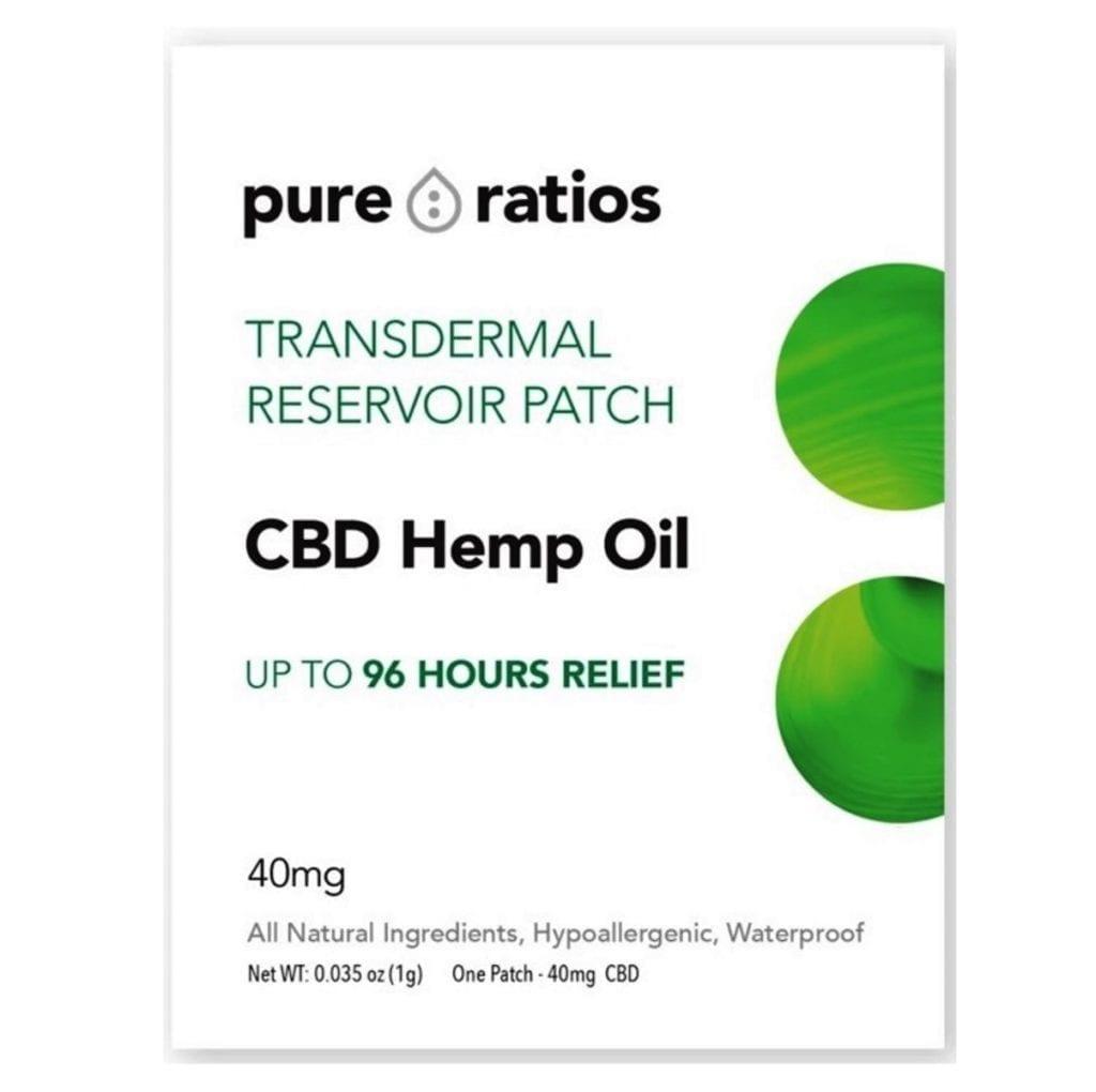 Pure Ratios CBD Patch