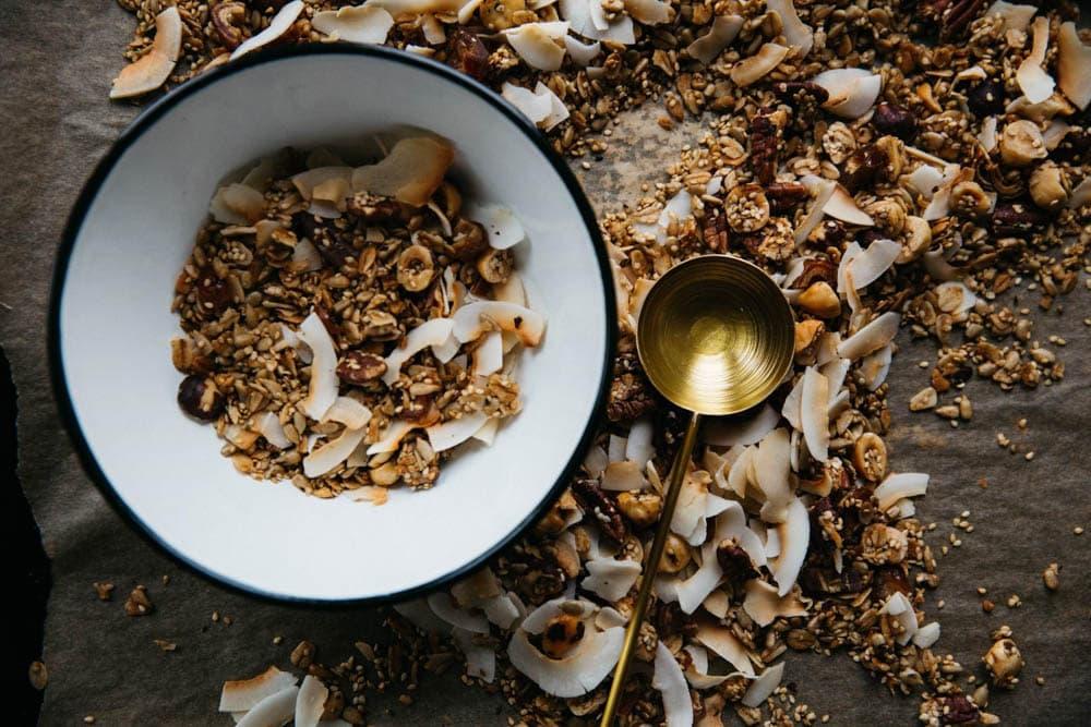 cbd snack foods granola