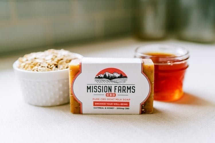mission farms cbd soap