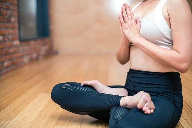 Yoga exercises and physical therapy treatment for chronic back pain also improves sleep